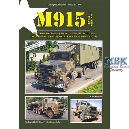 American Spezial M915 Early Variants