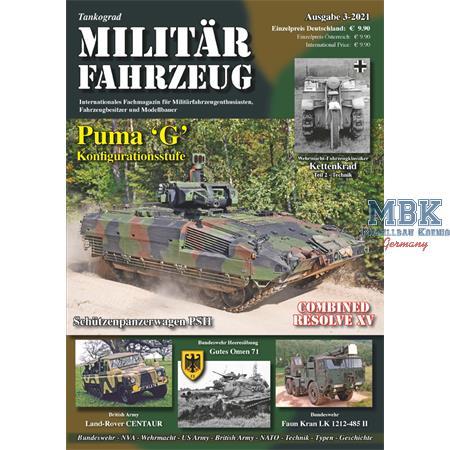 Tankograd MILITÄRFAHRZEUG 3-2021