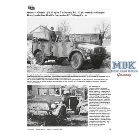 Einheits-PKW Die leichten Einheits-PKW Wehrmacht