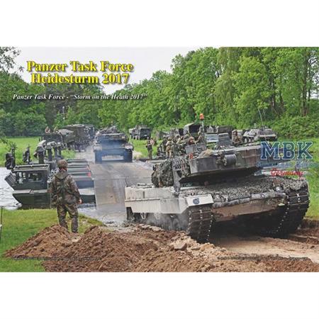 Panzer Task Force Übung Heidesturm 2017
