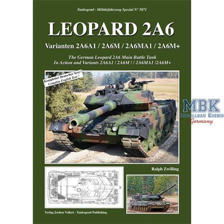 Leopard 2A6 Teil 2 , 2A6A1 2A6M 2A6MA1 2A6M+