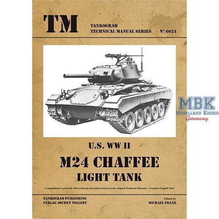 U.S. WW II M24 Chaffee Light Tank