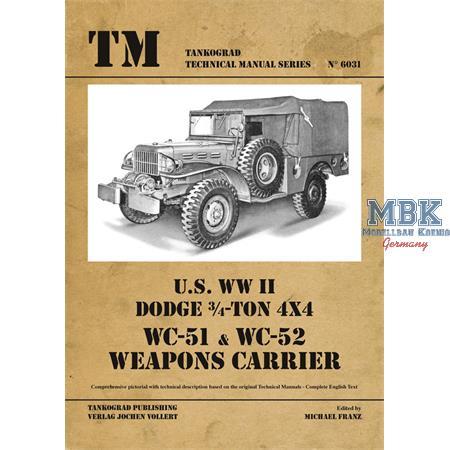 DOGDE Weapons Carrier WC - 51 + WC -52 LIMIITIERT