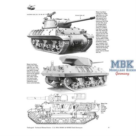M36, M36B1 & M36B2 Tank Destroyers