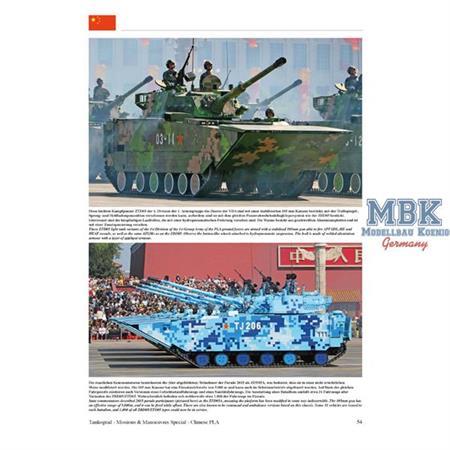 Chinese Army Vehicles modern Chinesischen Heeres
