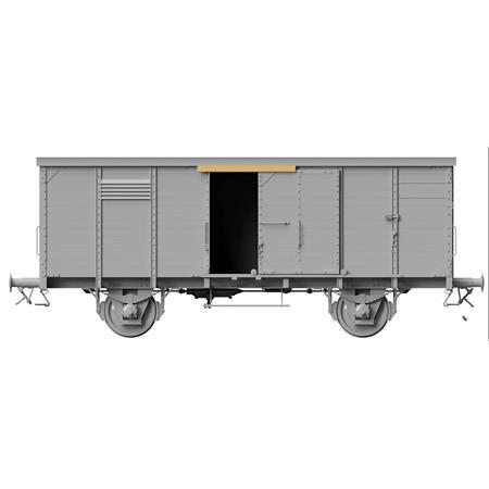 German gedeckter Güterwagen G10