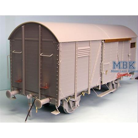 German gedeckter Güterwagen Gr 15to