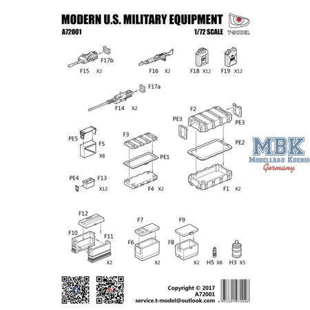 Modern US Military equipment