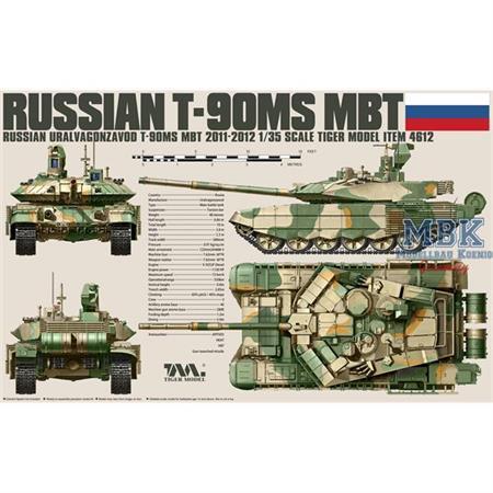 RUSSIAN MAIN BATTLE TANK T-90MS