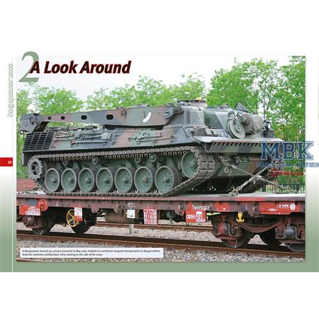 Belgian Bergepanzer 2 and 2000
