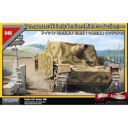 "Sturmpanzer IV \""Brummbär\"" early (mid production)"