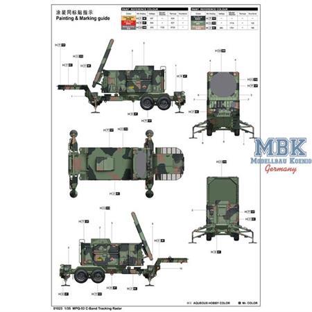 MPQ-53 C-Band Tracking Radar