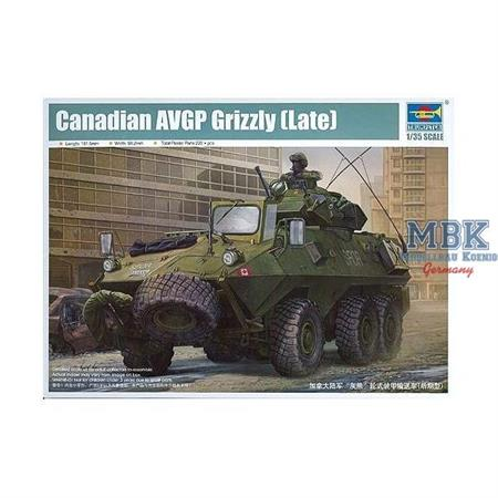 Canadian Grizzly 6x6 APC late