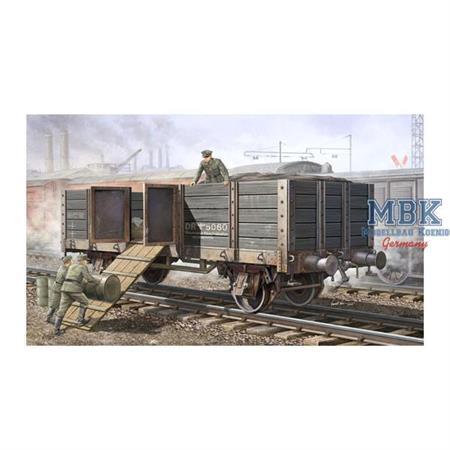 German Railway Gondola - offener Güterwagen