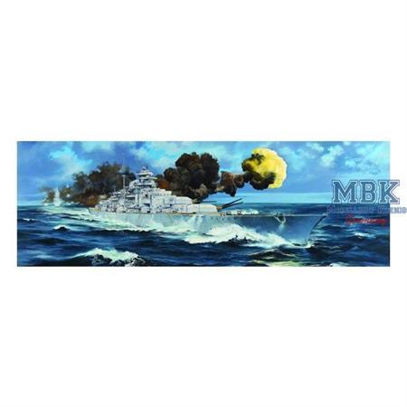 German Battleship Bismarck (1:200)