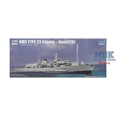 HMS Type 23 Frigate - Kent (F78)