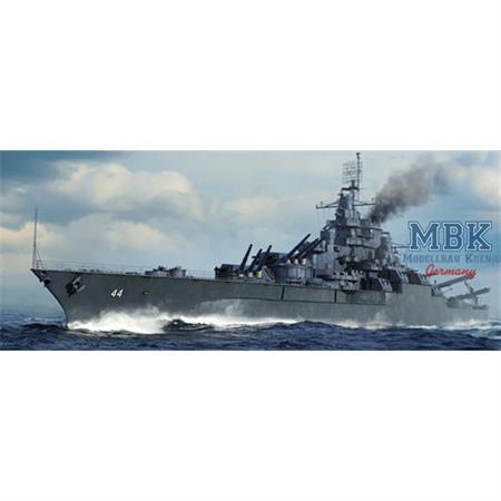 USS California BB44 Battleship 1945