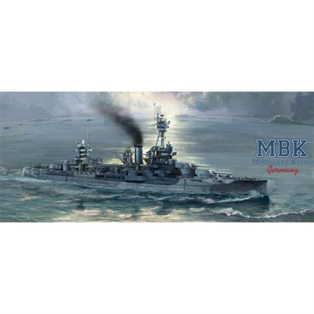 USS New York BB-34 Battleship 1:700