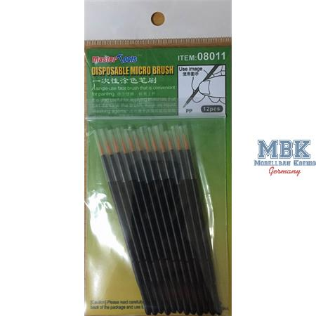 Disposable Micro Brush / Einweg Mikropinsel