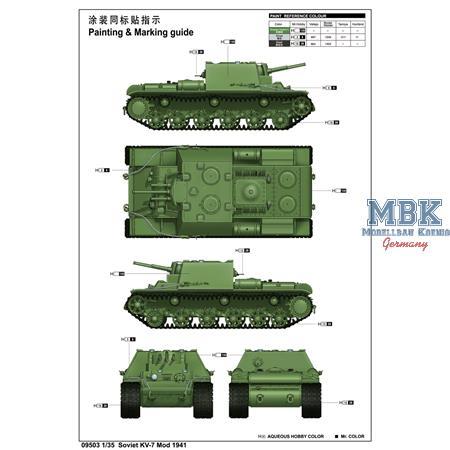 Soviet KV-7 Mod 1941