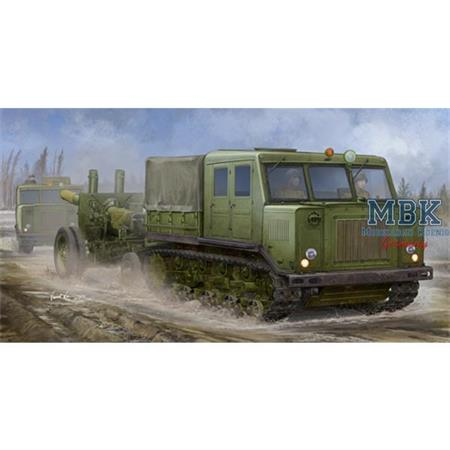 Russian AT-S Tractor + ML-20 152mm Howitzer