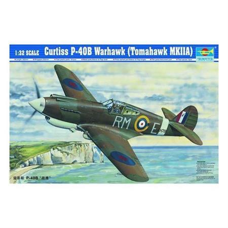 Curtiss P-40B Warhawk (Tomahawk MKIIA)
