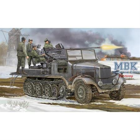 Sd.Kfz.6/2 mit 3,7cm Flak 37