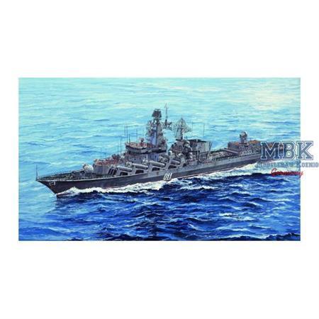 Russian Navy Slava Class Cruiser Marshal Ustinov