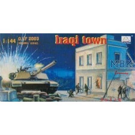 """Diorama """"Iraqi Town"""" Iraq 2003 1:144"""