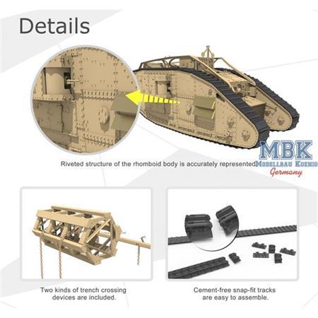 British Heavy Tank Mk.V Female