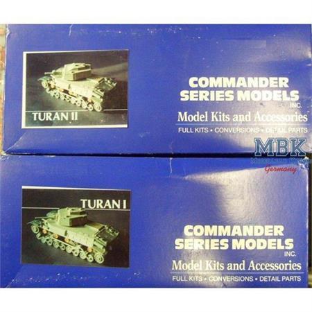 Turan I & II - Hungarian Tanks