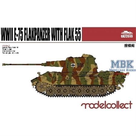 E-75 Flakpanzer with Flak 55