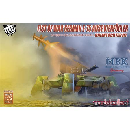 Fist of War German WWII E75  mit Rheintocher