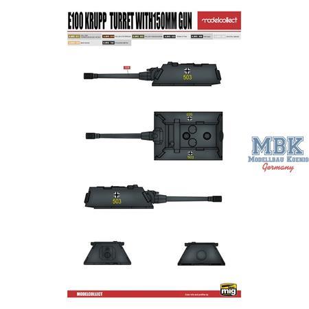 Ratte P1000 Weapon Set