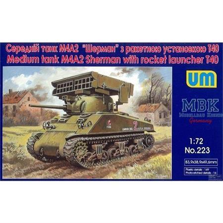 M4A2 Sherman w/ T40 Rocket Launcher
