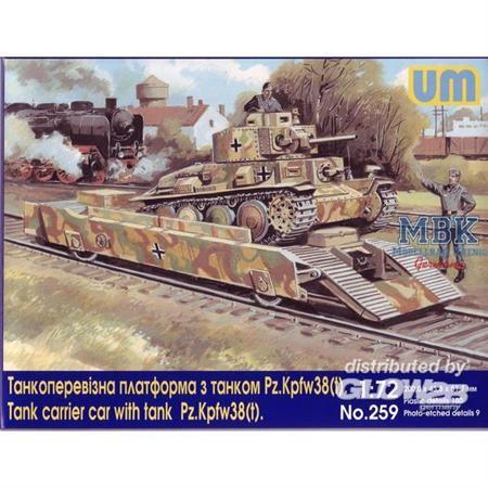 Panzerträgerwagen mit Pz 38(t) -s.Sp. & BP42/44