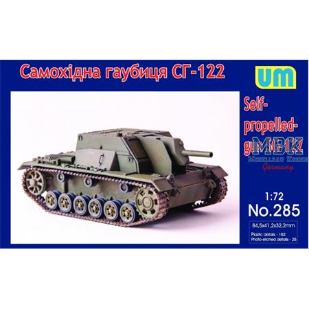 SG-122 self-propelled gun