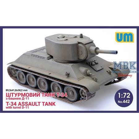 T-34 Assault tank w/ D-11 turret