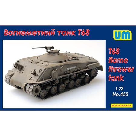 T68 Flamethrower Tank