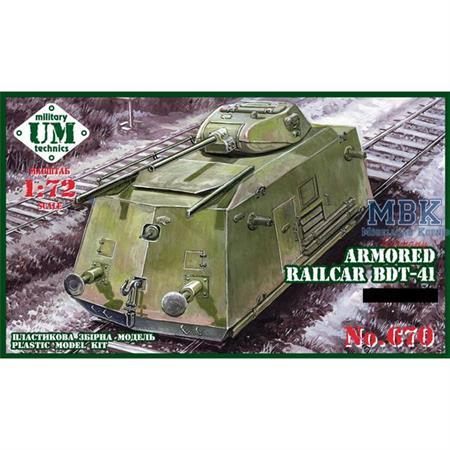 Armored Railcar BDT-41