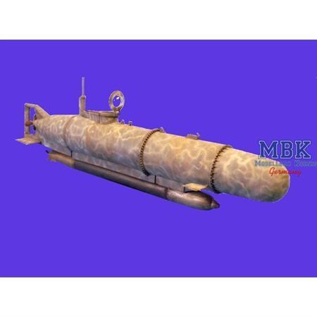 "German Mini Submarine ""Hecht"""