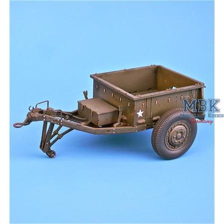 U.S. M10 Ammunition trailer