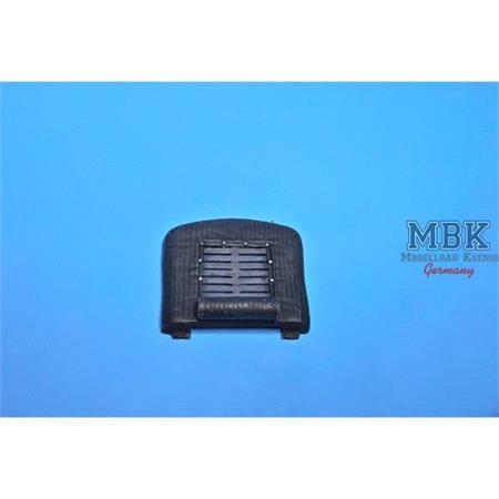 Büssing NAG 4500A late Winter radiator cover open