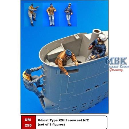 U-boat Type XXIII crew set N°2