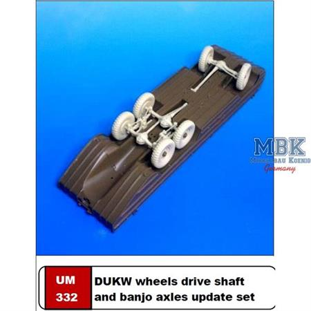 DUKW Wheels, Drive Shaft & Banjo Axle update
