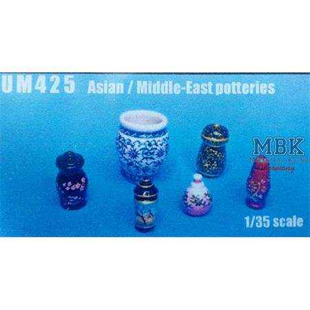 Asian middle east pottery