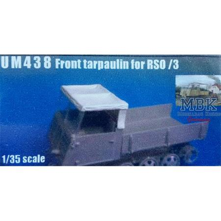 Front Tarpaulin for Steyr RSO open cab