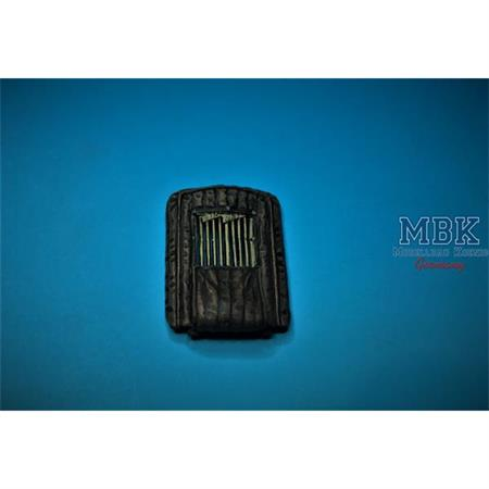 Opel Blitz 1,5t Winter Radiator cover open