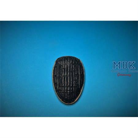 Ford G917 Winter Radiator cover closed