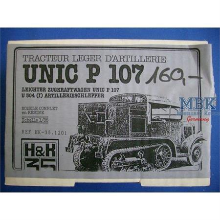 Unic P107 / U304 (f) Artilleriezugmaschine